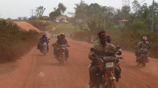 the Liberian preferred mode of transit