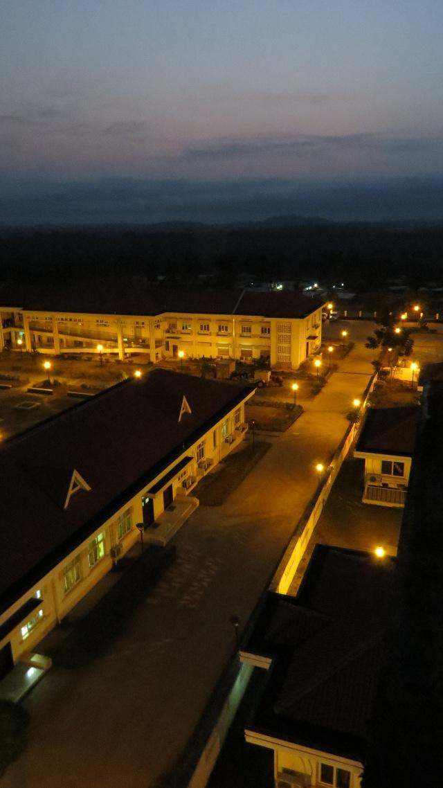 the tappita hospital at dawn